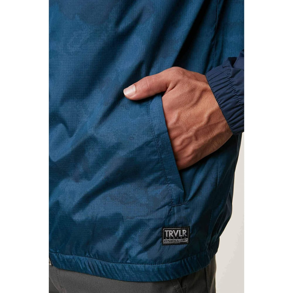 O'NEILL Guys' Traveler Windbreaker Jacket - DARK BLUE-DKB