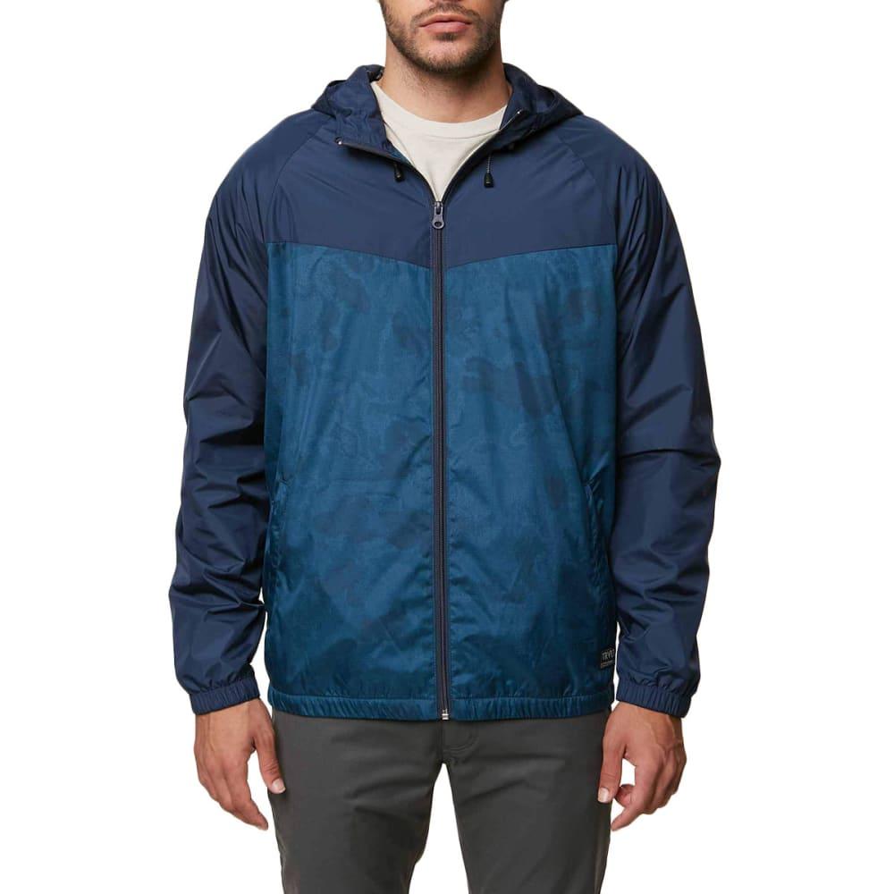 O'neill Guys' Traveler Windbreaker Jacket - Blue, S