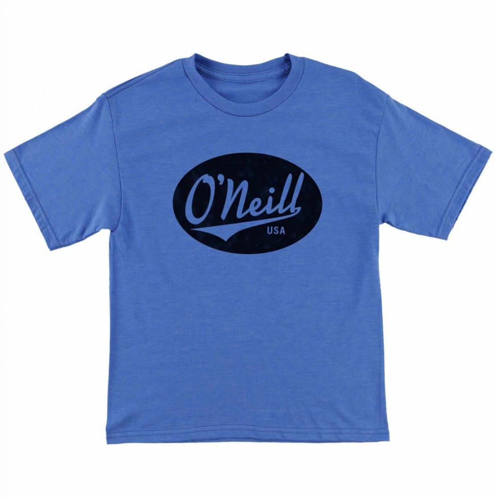 O'NEILL Boys' Property Short-Sleeve Tee - RYL- HTR ROYAL BLUE