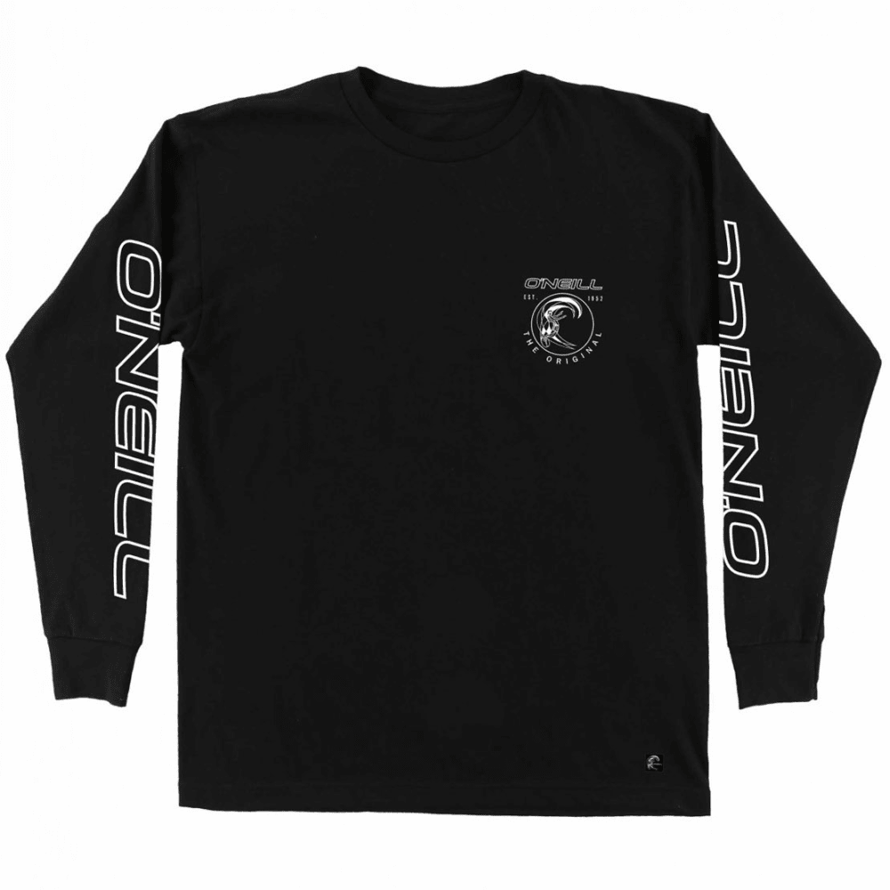 O'NEILL Boys' Monumental Long-Sleeve Tee - BLK-BLACK