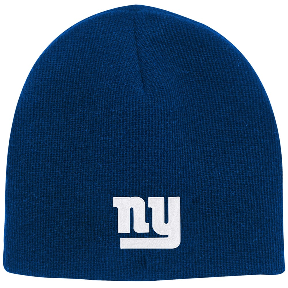 NEW YORK GIANTS Big Kids' Basic Knit Beanie - ROYAL BLUE