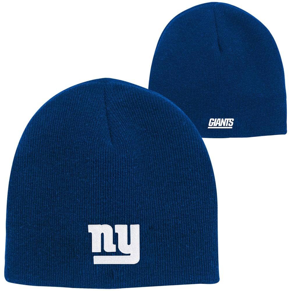NEW YORK GIANTS Big Kids' Basic Knit Beanie - ROYAL BLUE
