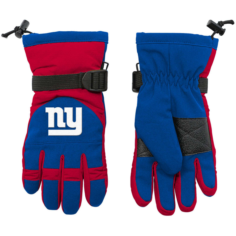 NEW YORK GIANTS Big Kids' Nylon Gloves ONE SIZE