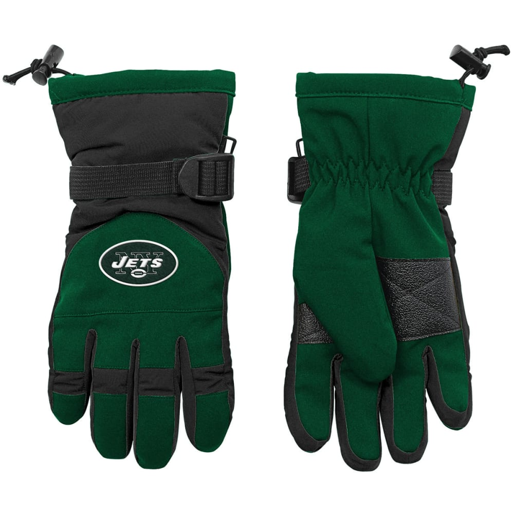 NEW YORK JETS Big Kids' Nylon Gloves - GREEN