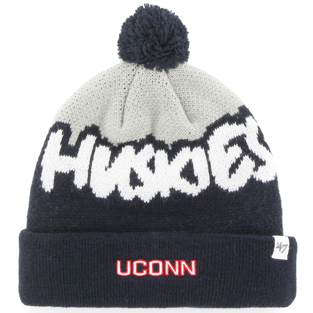 Uconn Underdog 47 Cuff Knit Pom Beanie - Blue, YOUTH