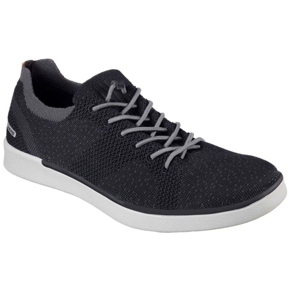 SKECHERS Men's Boyar -  Molsen Sneakers, Black 7.5