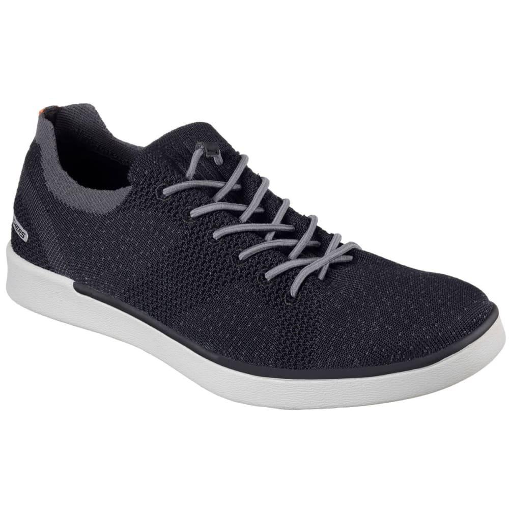 SKECHERS Men's Boyar – Molsen Sneakers, Black - BLACK
