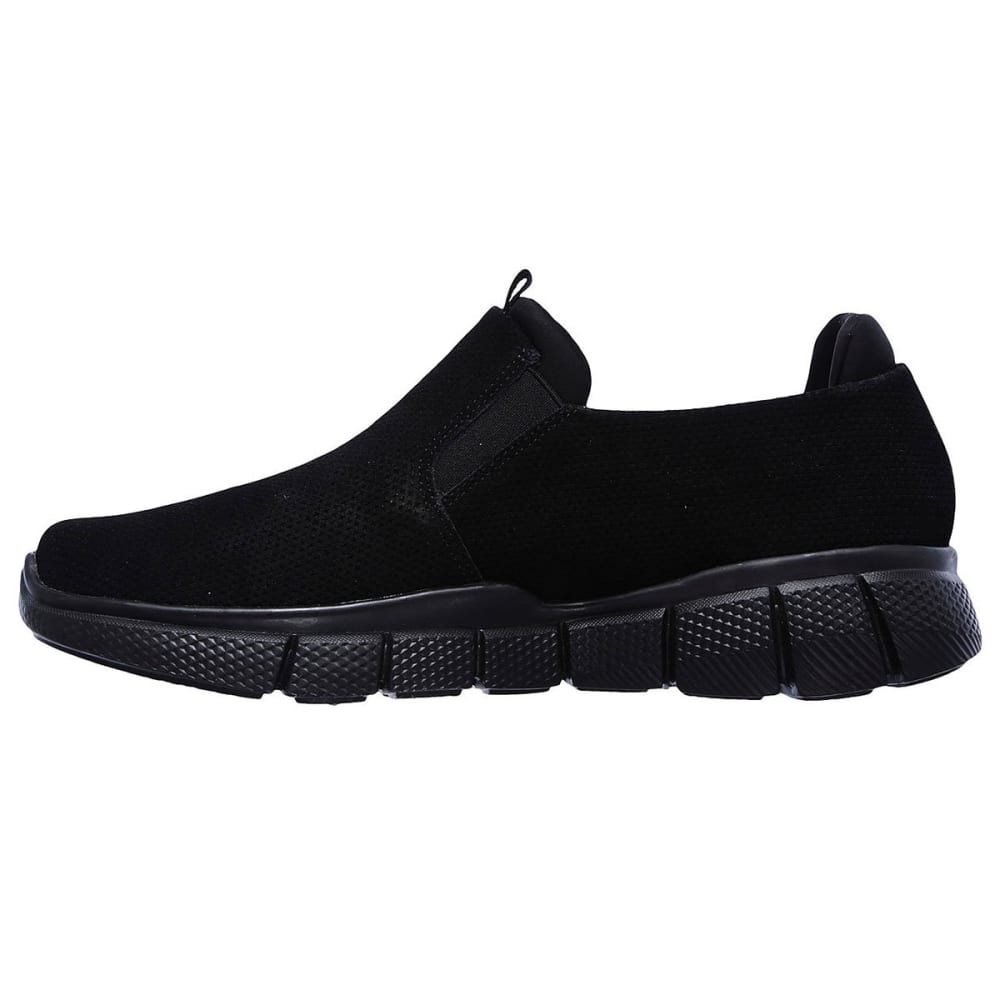 SKECHERS Men's Equalizer 2.0 - Lodini Slip-On Casual Shoes Wide, Black - BLACK