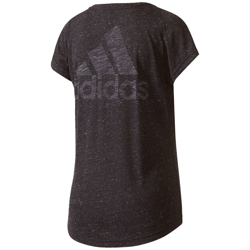 ADIDAS Women's Winners Short-Sleeve Tee - BLACK-BQ9513