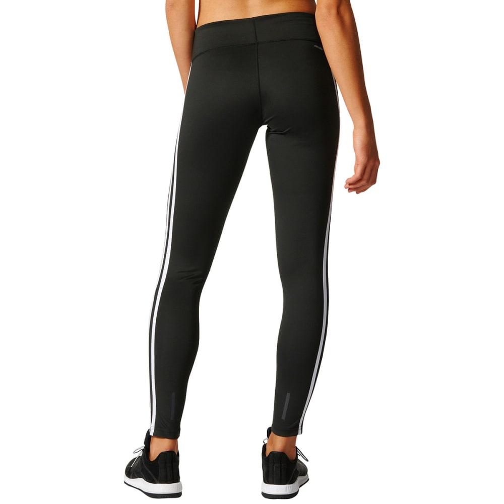ADIDAS Women's D2M 3S Long Tight - BLACK/WHITE-BQ2072