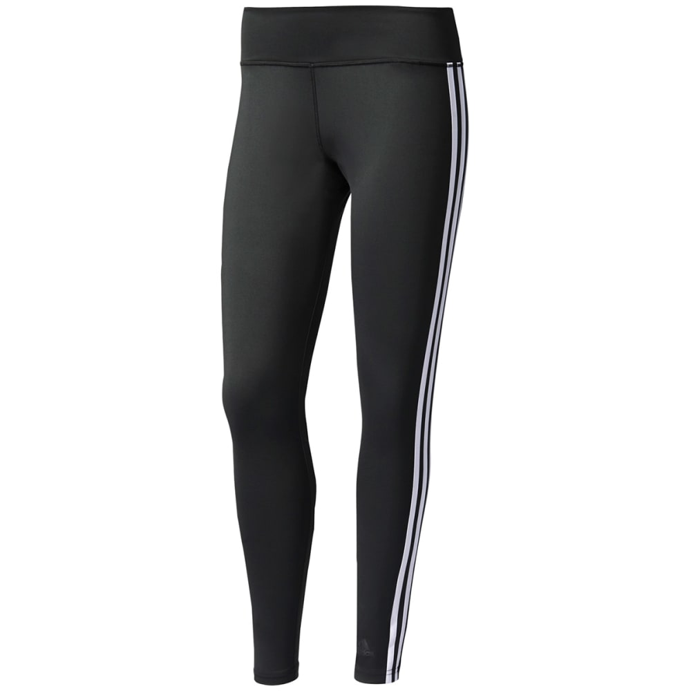 Adidas Women's D2M 3S Long Tight - Black, S