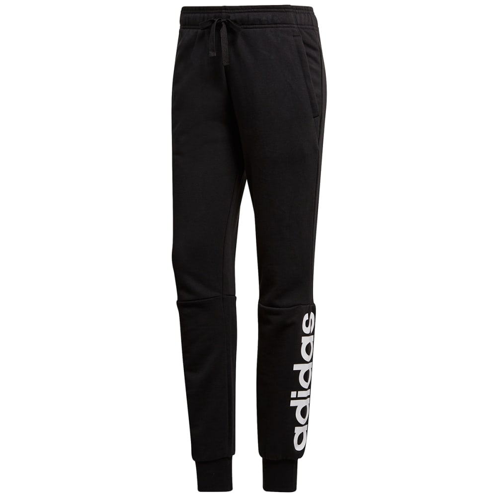 Adidas Women's Essentials Linear Pants - Black, S