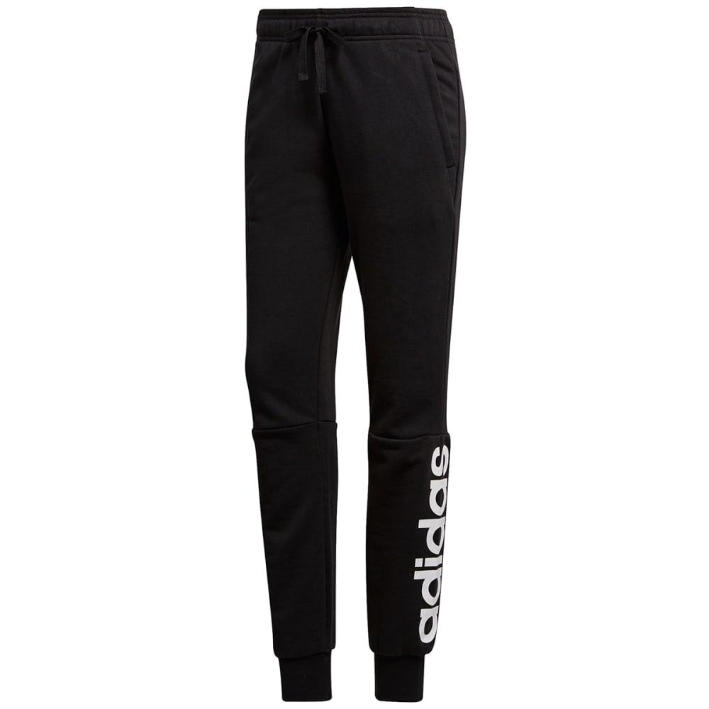 Adidas Women's Essentials Linear Pants - Black, S