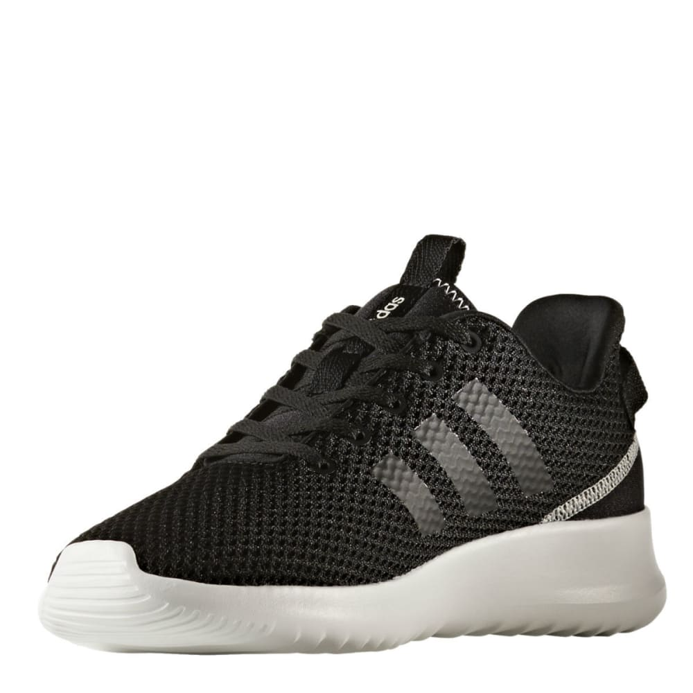 ADIDAS Women's Neo Cloudfoam Racer TR Running Shoes, Black/Grey - BLACK