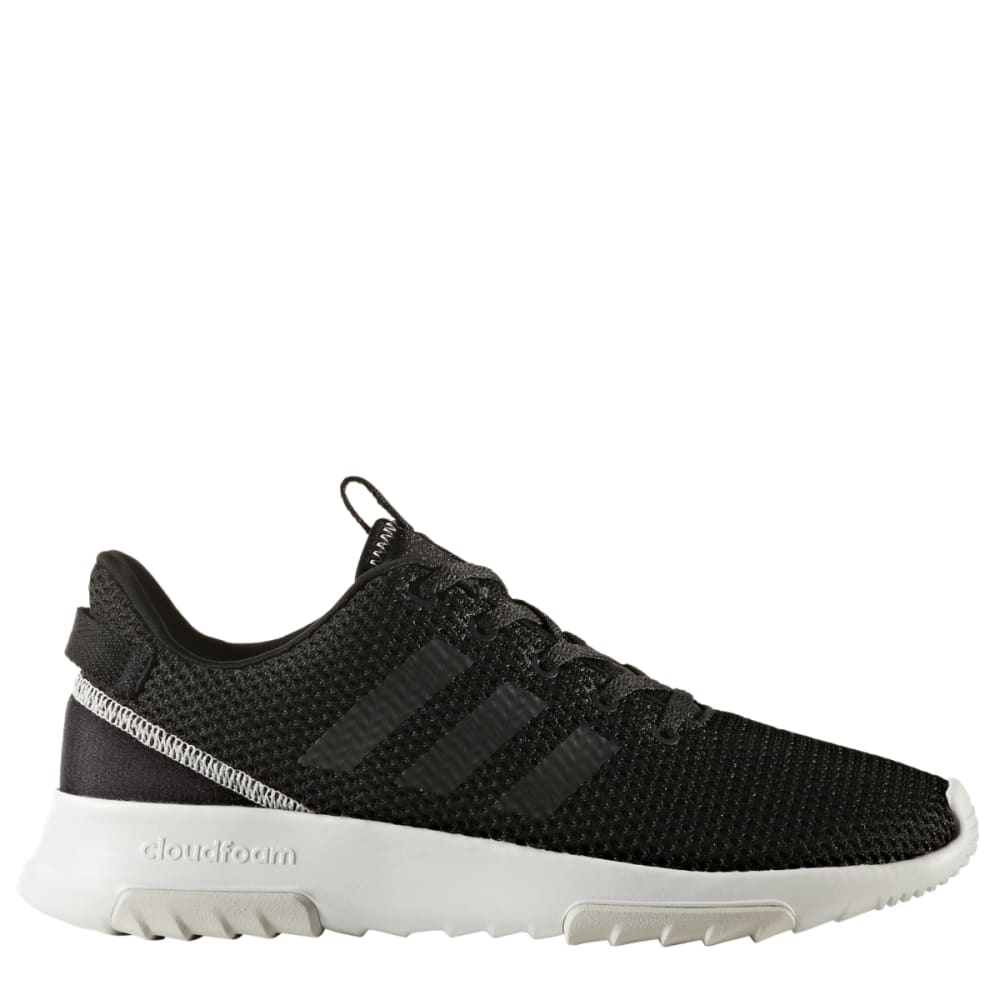 ADIDAS Women's Neo Cloudfoam Racer TR Running Shoes, Black/Grey - BLACK