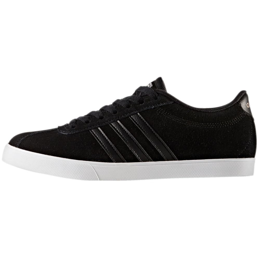 ADIDAS Women's Neo Courtset Sneakers, Black/Metallic - BLACK