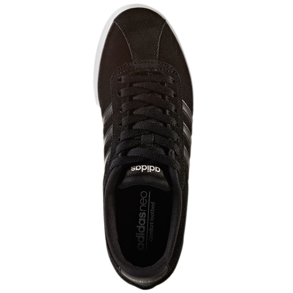 ADIDAS Women's Neo Courtset Sneakers, Black/Metallic - BLACK