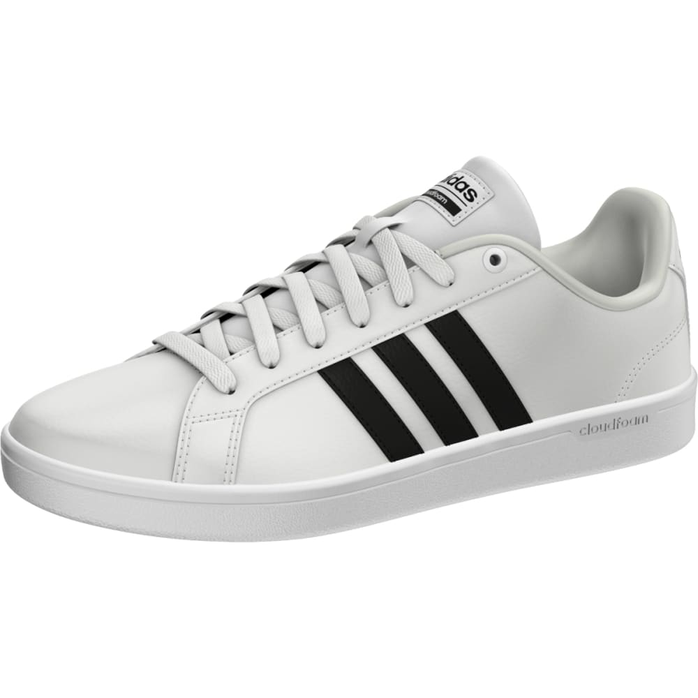 ADIDAS Women's Cloudfoam Advantage Sneakers, White/Black - WHITE-AW4287