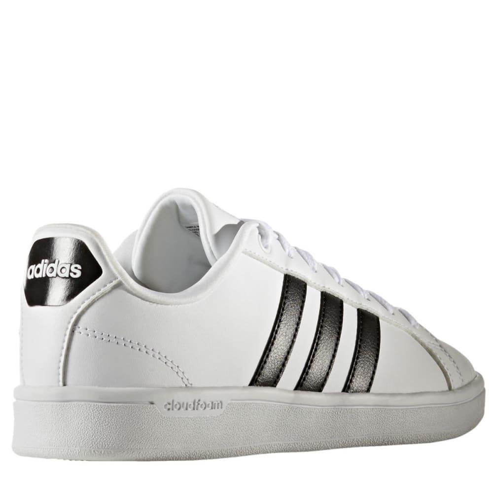 ADIDAS Women's Cloudfoam Advantage Sneakers, White/Black - WHITE