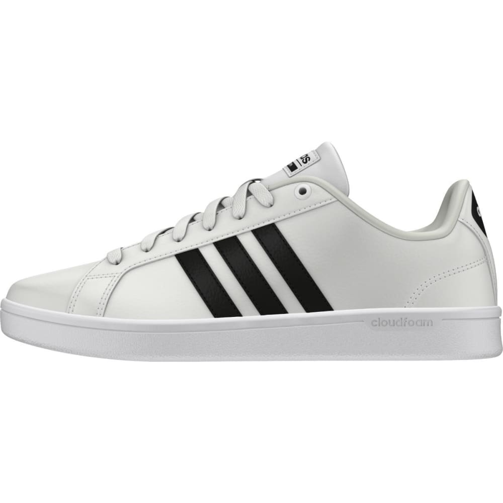 ADIDAS Women's Cloudfoam Advantage Sneakers, White/Black - WHITE