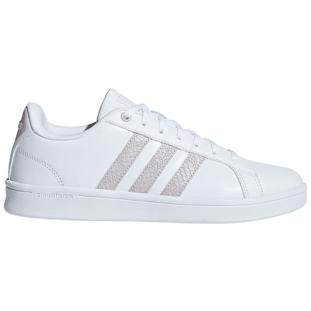 ADIDAS Women's Cloudfoam Advantage Sneakers, White/Black 6