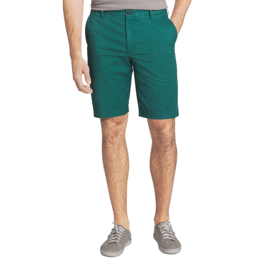 IZOD Men's Saltwater Stretch Chino Shorts - NORTH SEA-468