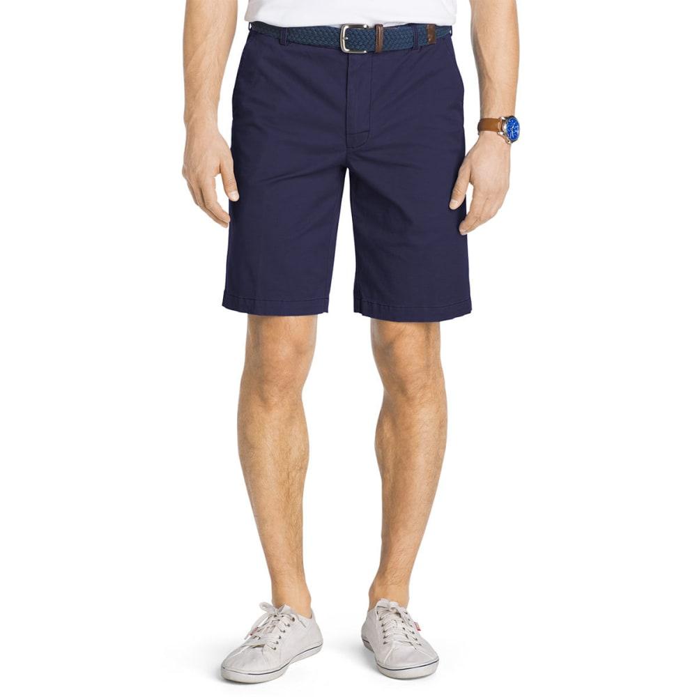 IZOD Men's Saltwater Stretch Chino Shorts - CADET NAVY-412