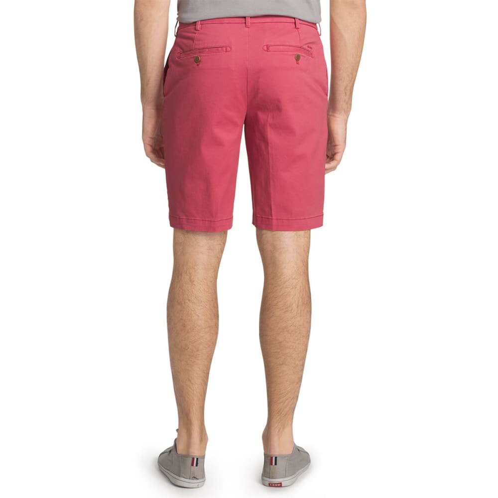 IZOD Men's Saltwater Stretch Chino Shorts - SALTWATER RED-648