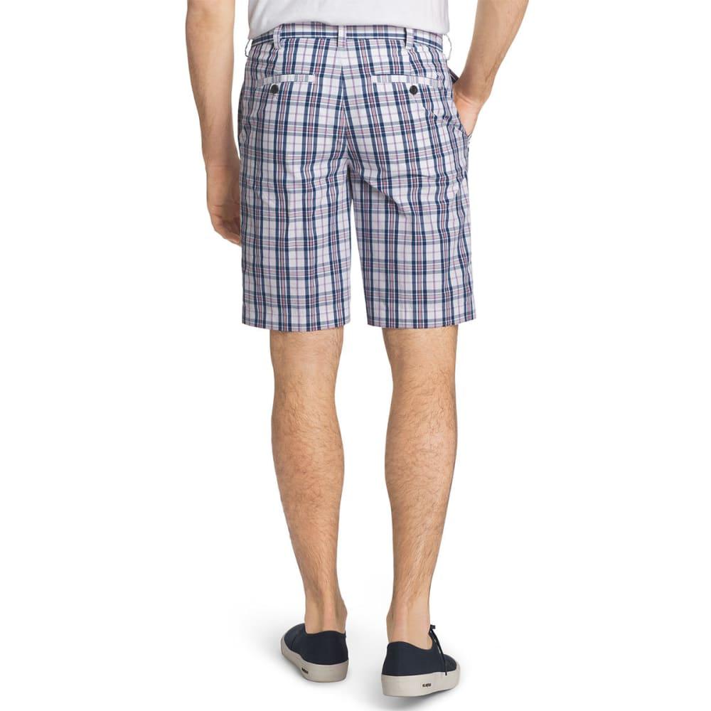 IZOD Men's Portsmith Plaid Shorts - ESTATE BLUE-435