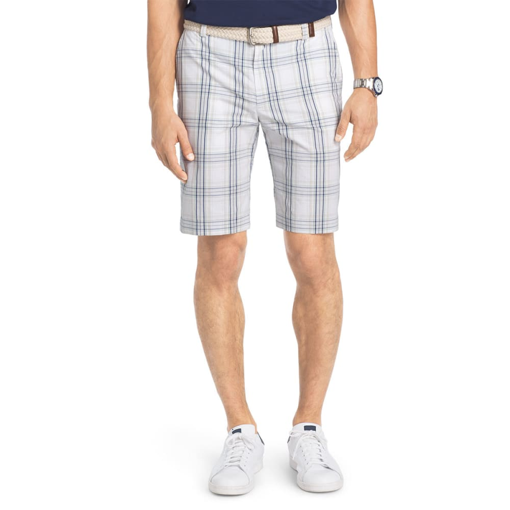 IZOD Men's Portsmith Plaid Shorts - HIGH RISE-050
