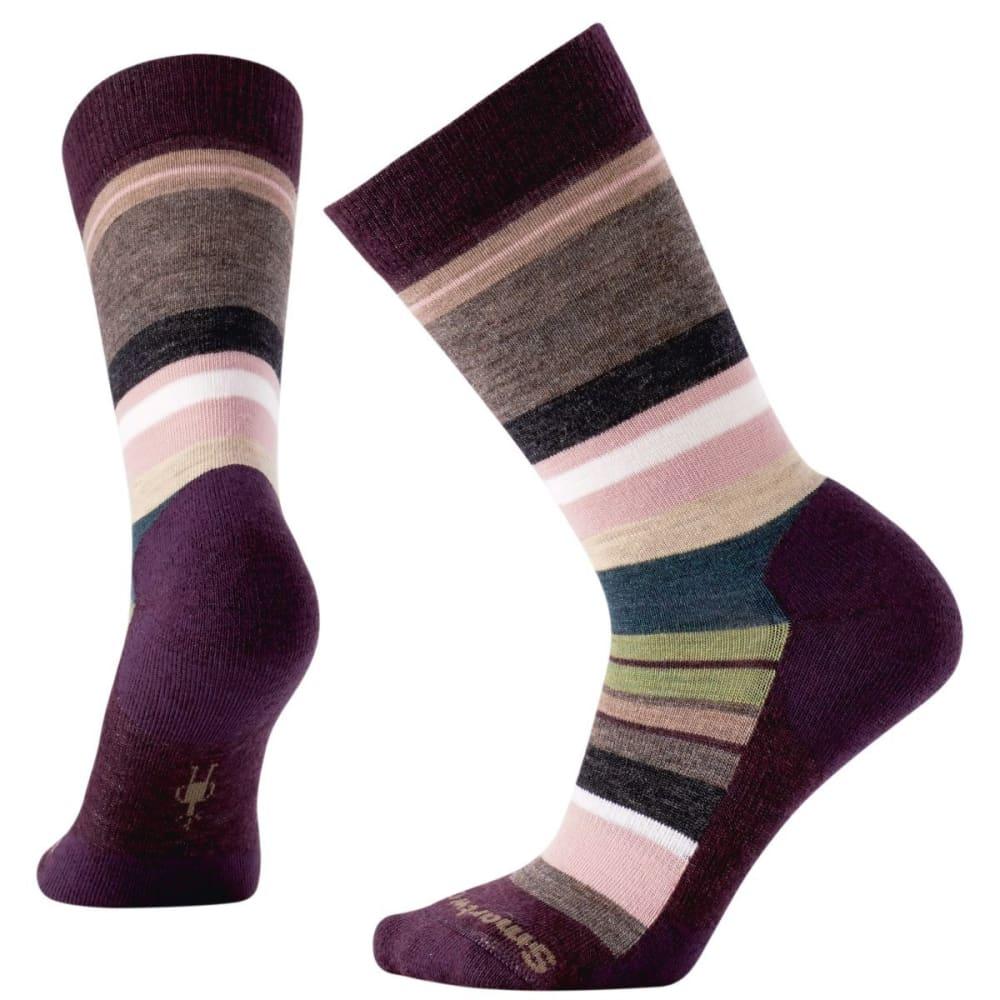 SMARTWOOL Women's Saturnsphere Socks - BORDEAUX HEATHER