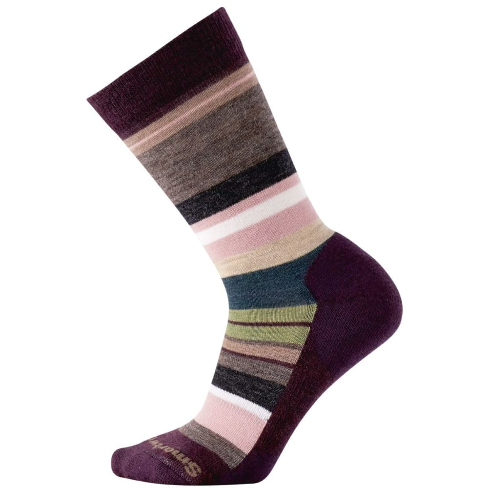 SMARTWOOL Women's Saturnsphere Socks - BORDEAUX HEATHER