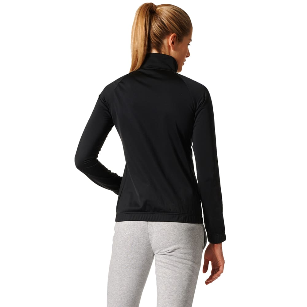 ADIDAS Women's Designed 2 Move Track Jacket - BLACK/WHITE-BK4658