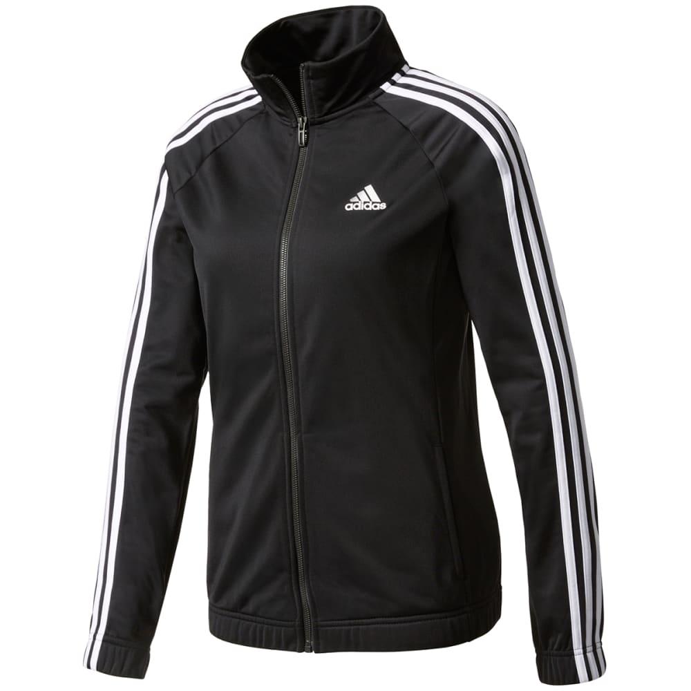 ADIDAS Women's Designed 2 Move Track Jacket - BLACK/WHITE-BK4658
