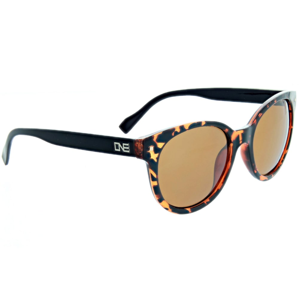 ONE BY OPTIC NERVE Women's Hotplate Polarized Sunglasses, Brown - BROWN