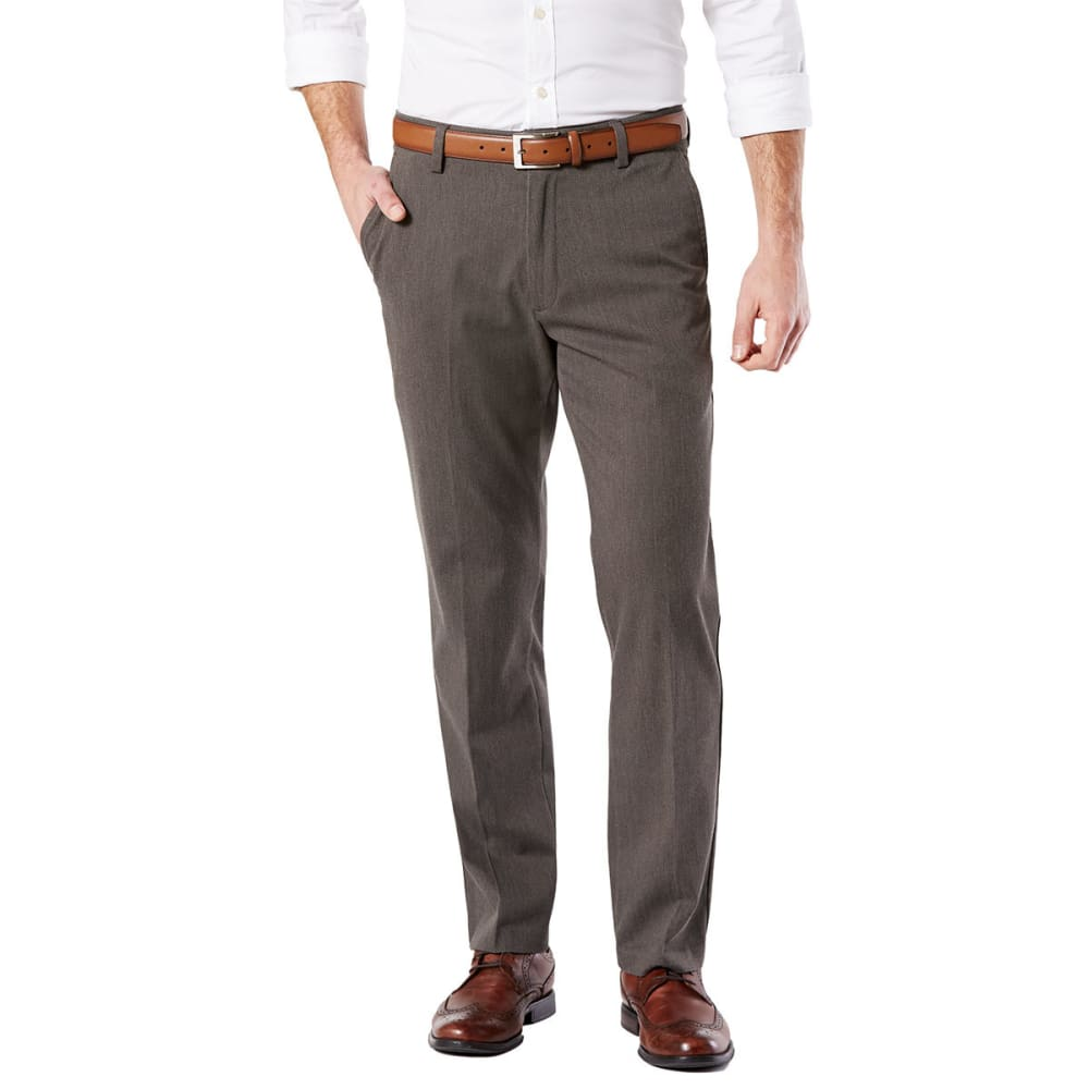 DOCKERS Men's Easy Khaki Straight Stretch Flat-Front Pants 29/30