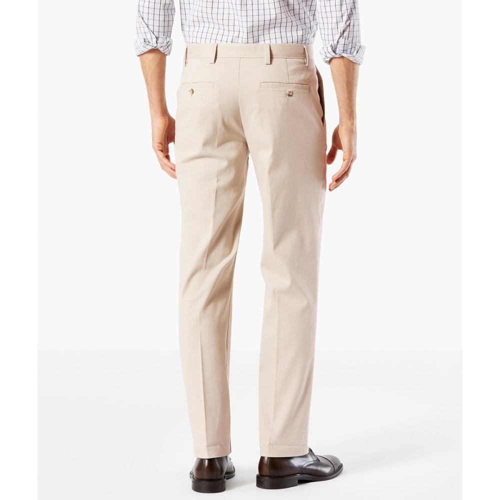 DOCKERS Men's Easy Khaki Straight Stretch Flat-Front Pants - CLOUD-0000