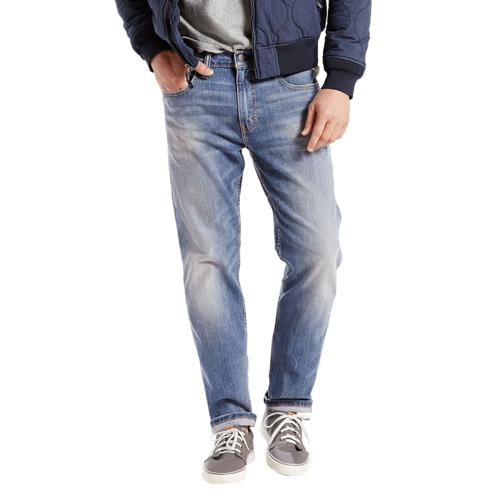LEVI'S Men's 502 Regular Fit Tapered Jeans - TANAGER-0003