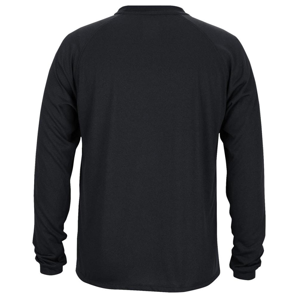 ADIDAS Men's Boston Bruins Primary Position Climalite Long-Sleeve Tee - BLACK