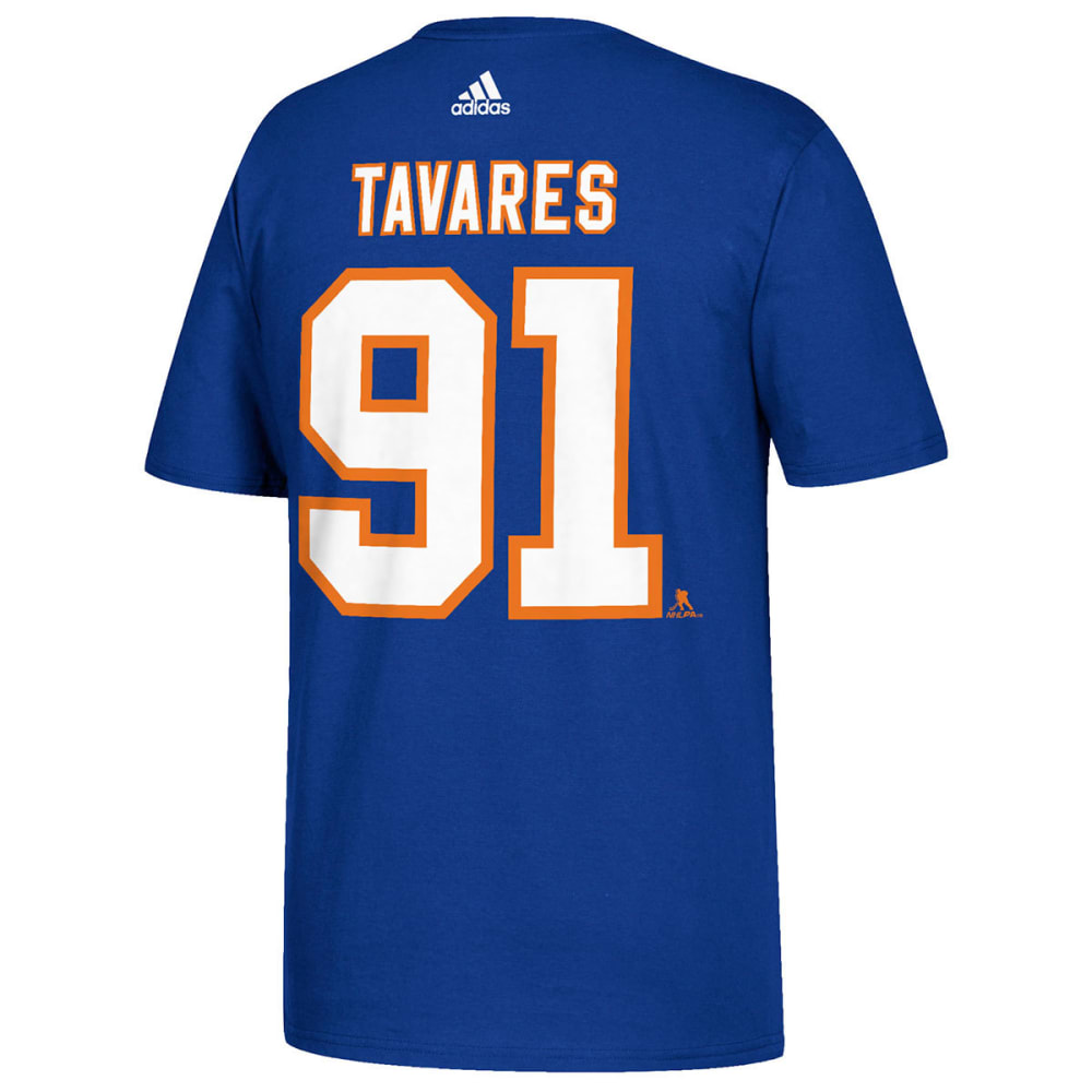 ADIDAS Men's New York Islanders Tavares Name and Number Short-Sleeve Tee - ROYAL BLUE