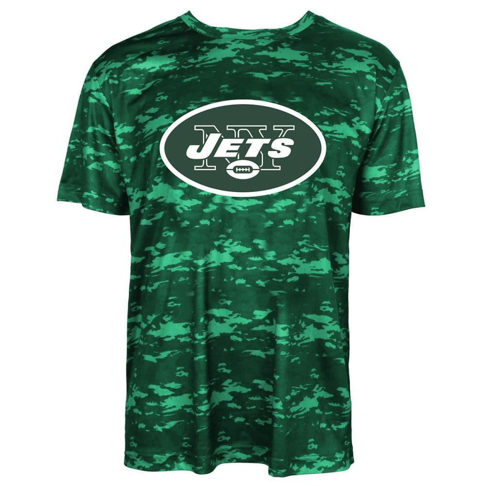 NEW YORK JETS Men's Tone on Tone Post Poly Short-Sleeve Tee - GREEN