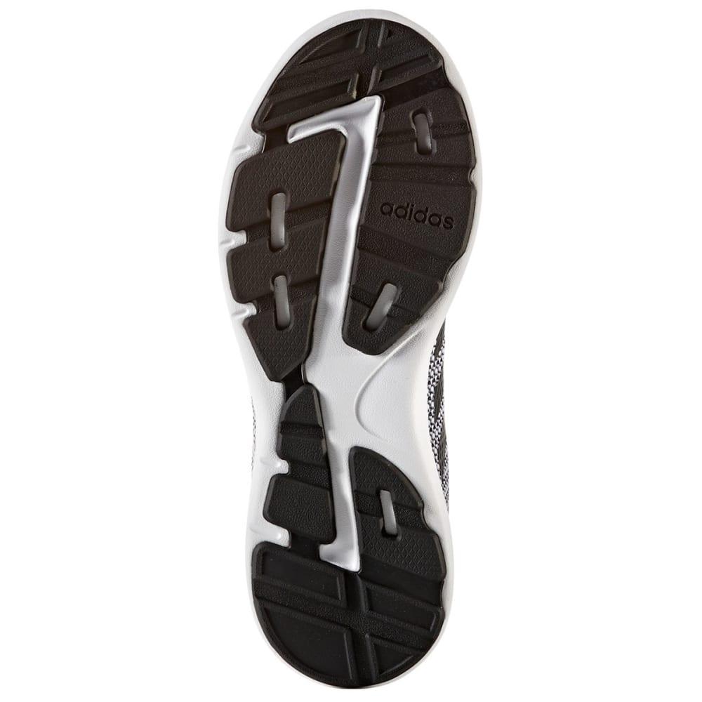 ADIDAS Women's Neo Cloudfoam Revolver Running Shoes, Black/White - BLACK