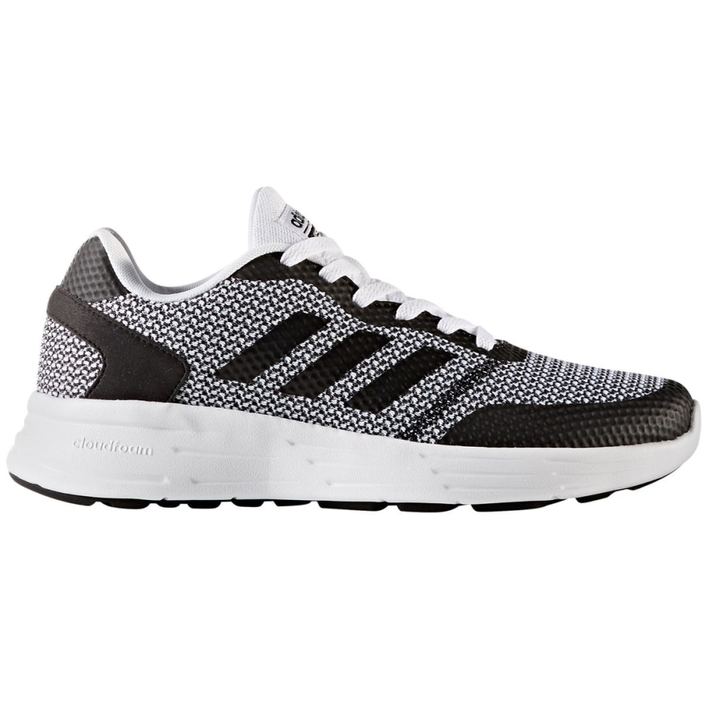 Adidas Women's Neo Cloudfoam Revolver Running Shoes, Black/white