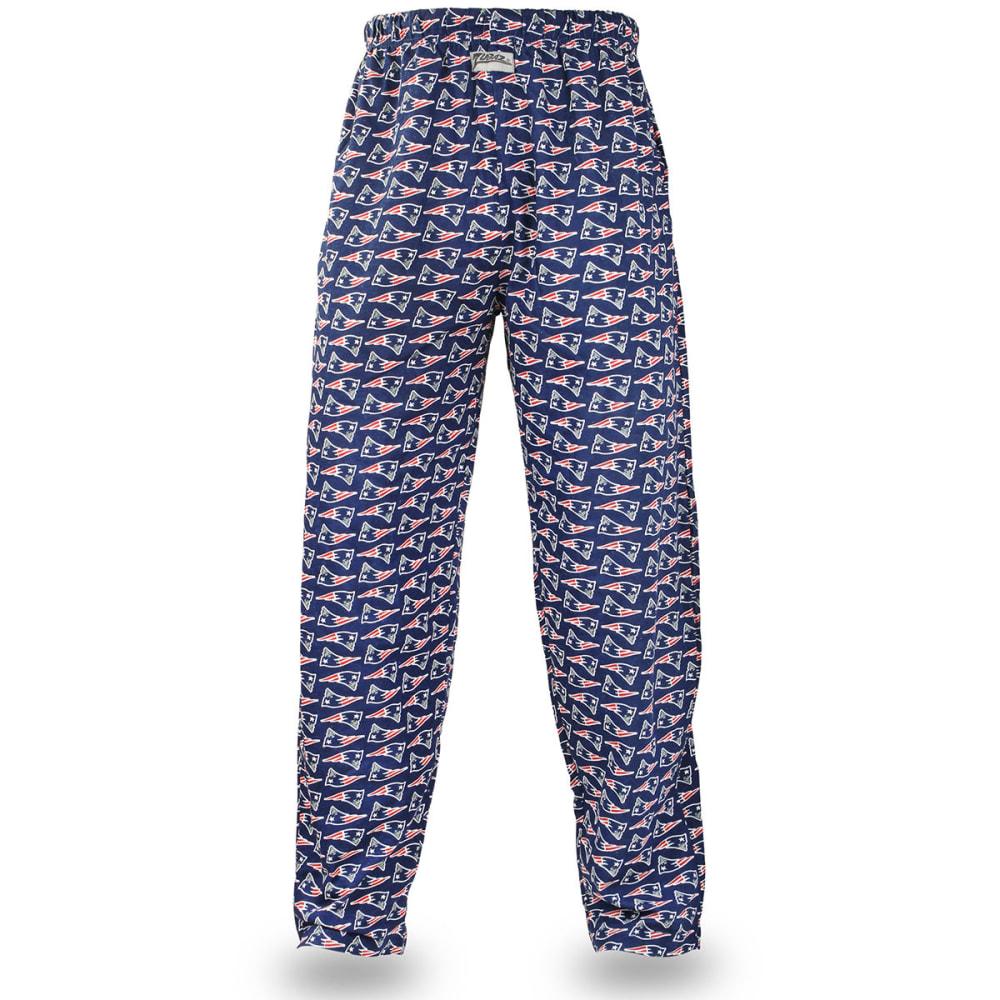 NEW ENGLAND PATRIOTS Men's Zubaz Logo Comfy Pants - NAVY