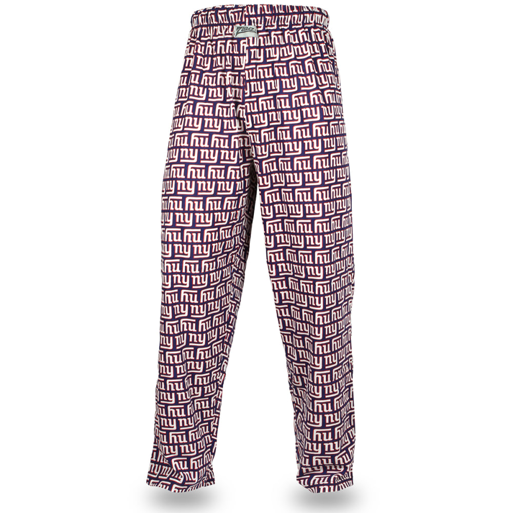 NEW YORK GIANTS Men's Zubaz Logo Comfy Pants - ROYAL BLUE