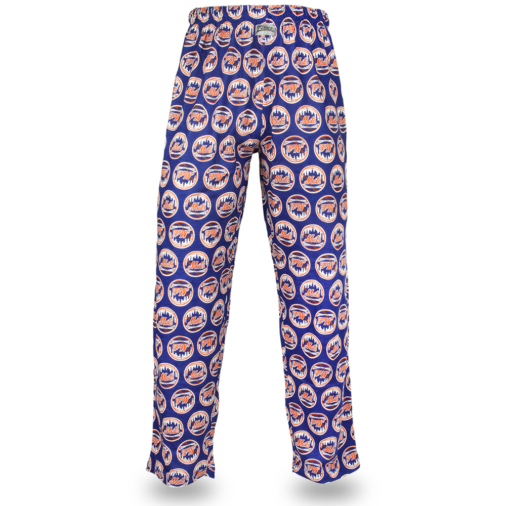 NEW YORK METS Men's Zubaz Logo Comfy Pants - ROYAL BLUE