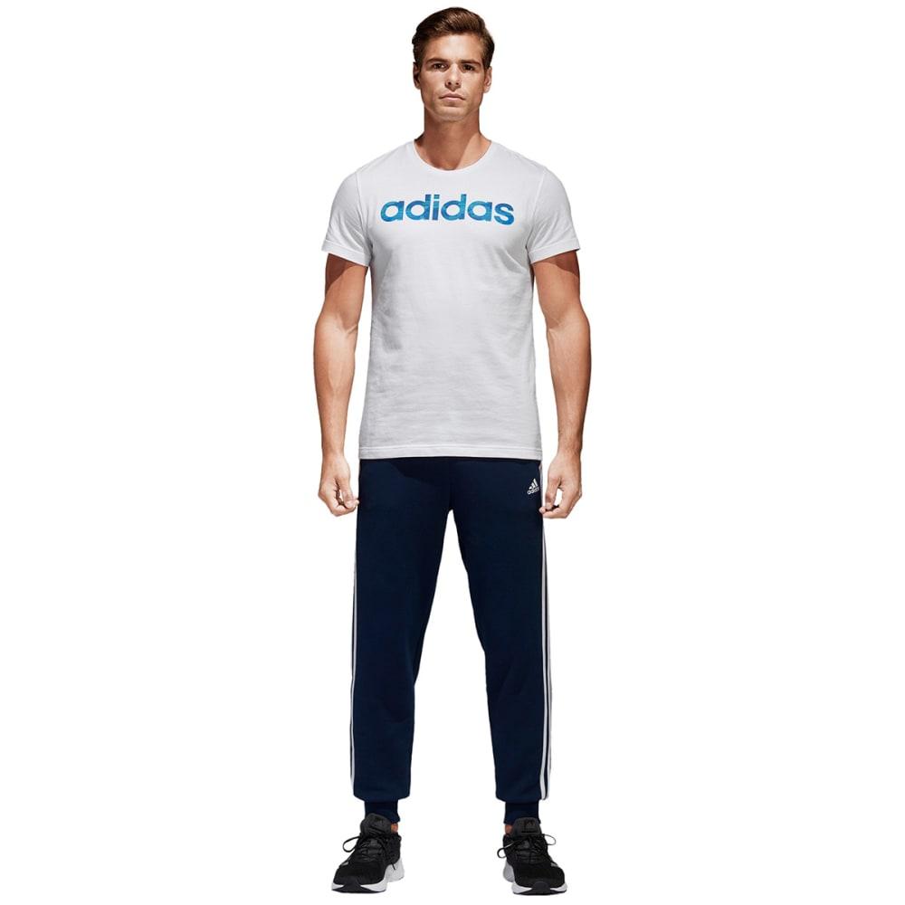 ADIDAS Men's Essentials 3-Stripes Jogger Pants - COLL NAVY/WHT-BR3699