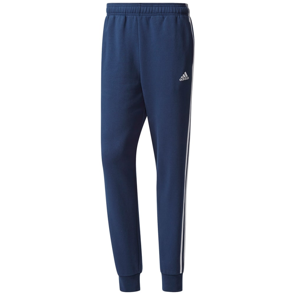 Adidas Men's Essentials 3-Stripes Jogger Pants - Blue, M