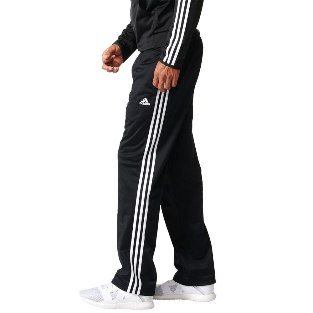 ADIDAS Men's Essential Tricot Track Pants - BLACK/WHITE-BK7402