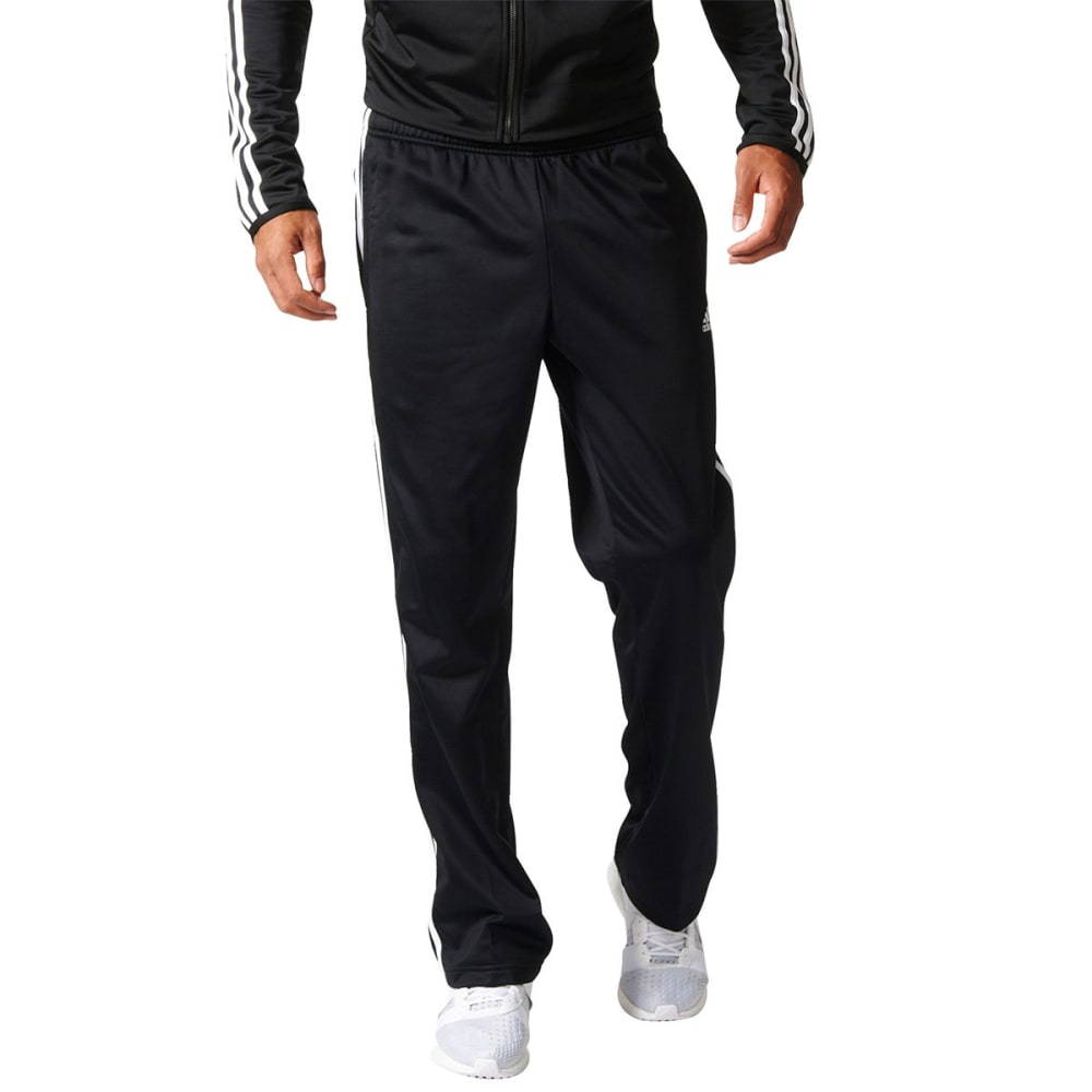 ADIDAS Men's Essential Tricot Track Pants - BLACK/WHITE-BK7402